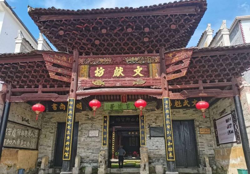 江西安福:古村旧貌展新姿