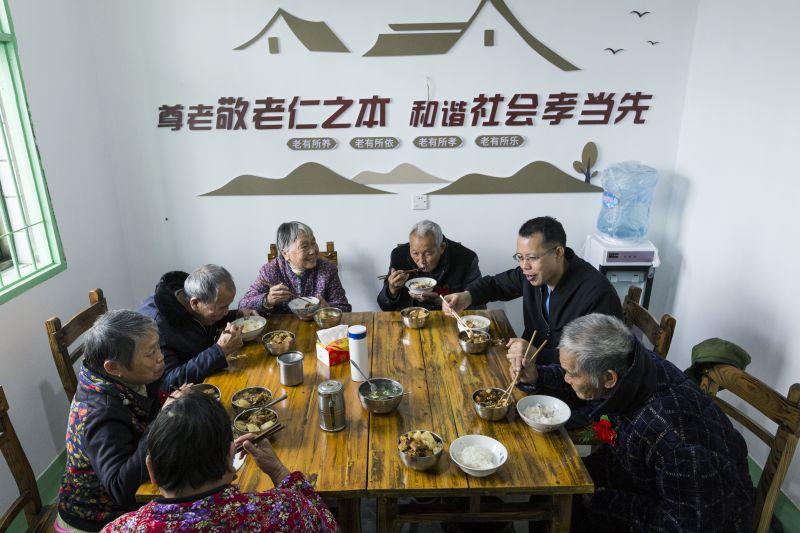 江西新余:颐养之家让老人舒心子女放心